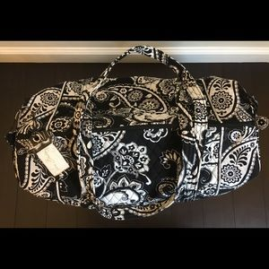 Vera Bradley Duffle Bag with Luggage Tag